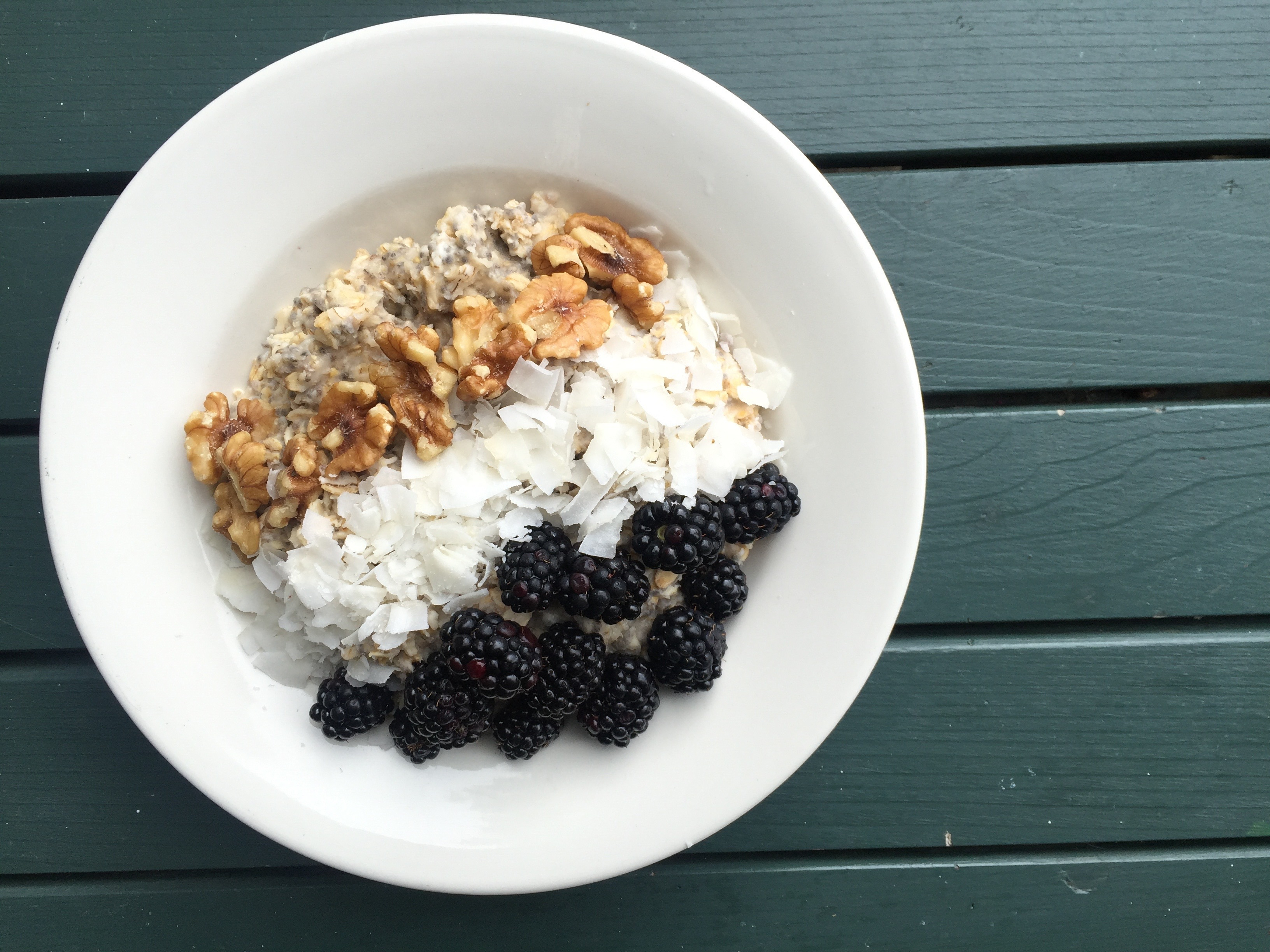 Workout Recovery Oatmeal