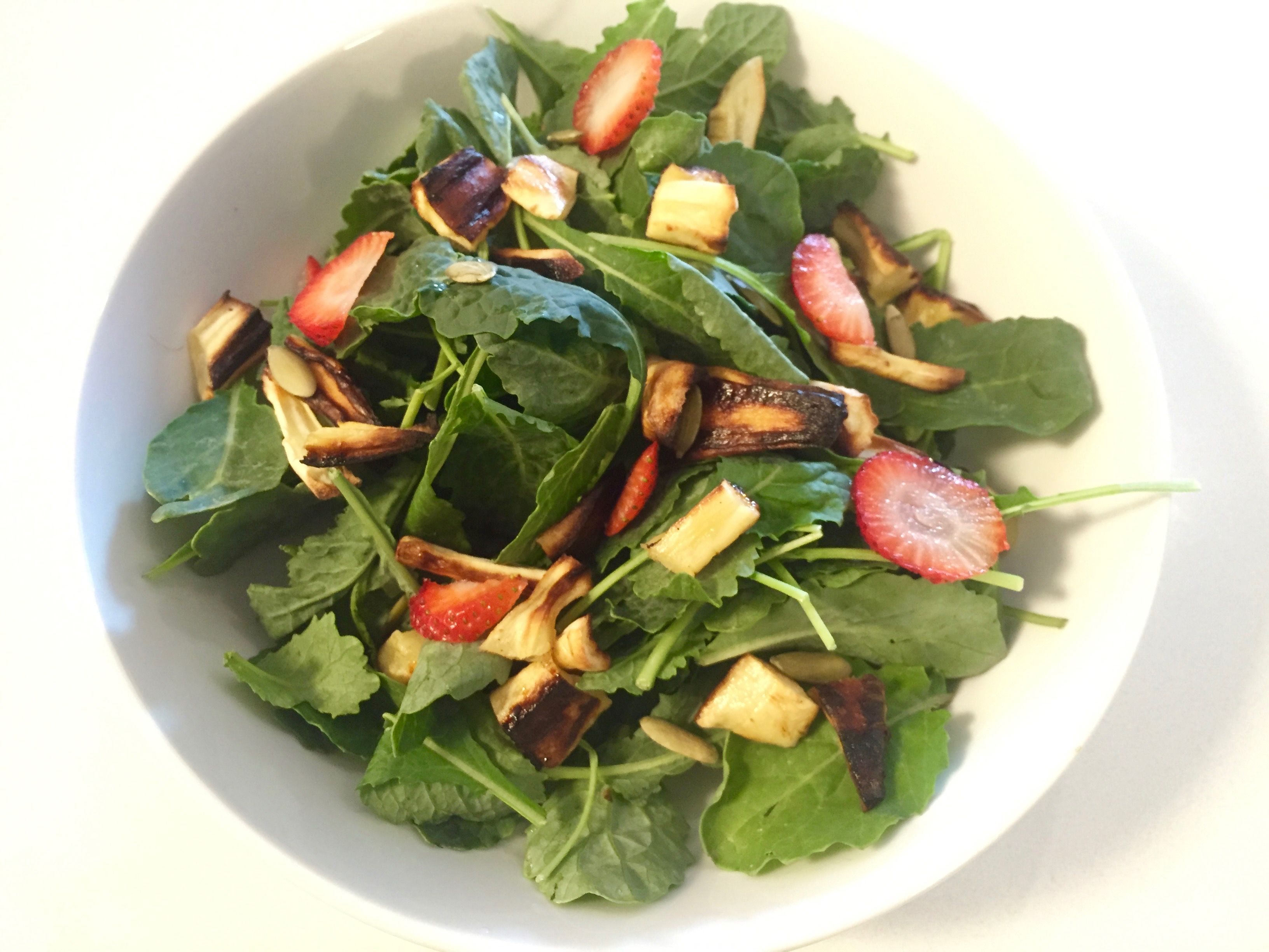 Kale and Strawberry Salad