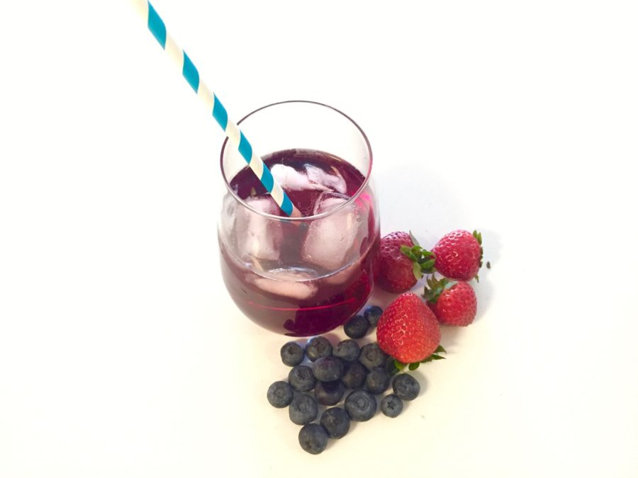 Simple Berry Spritzer