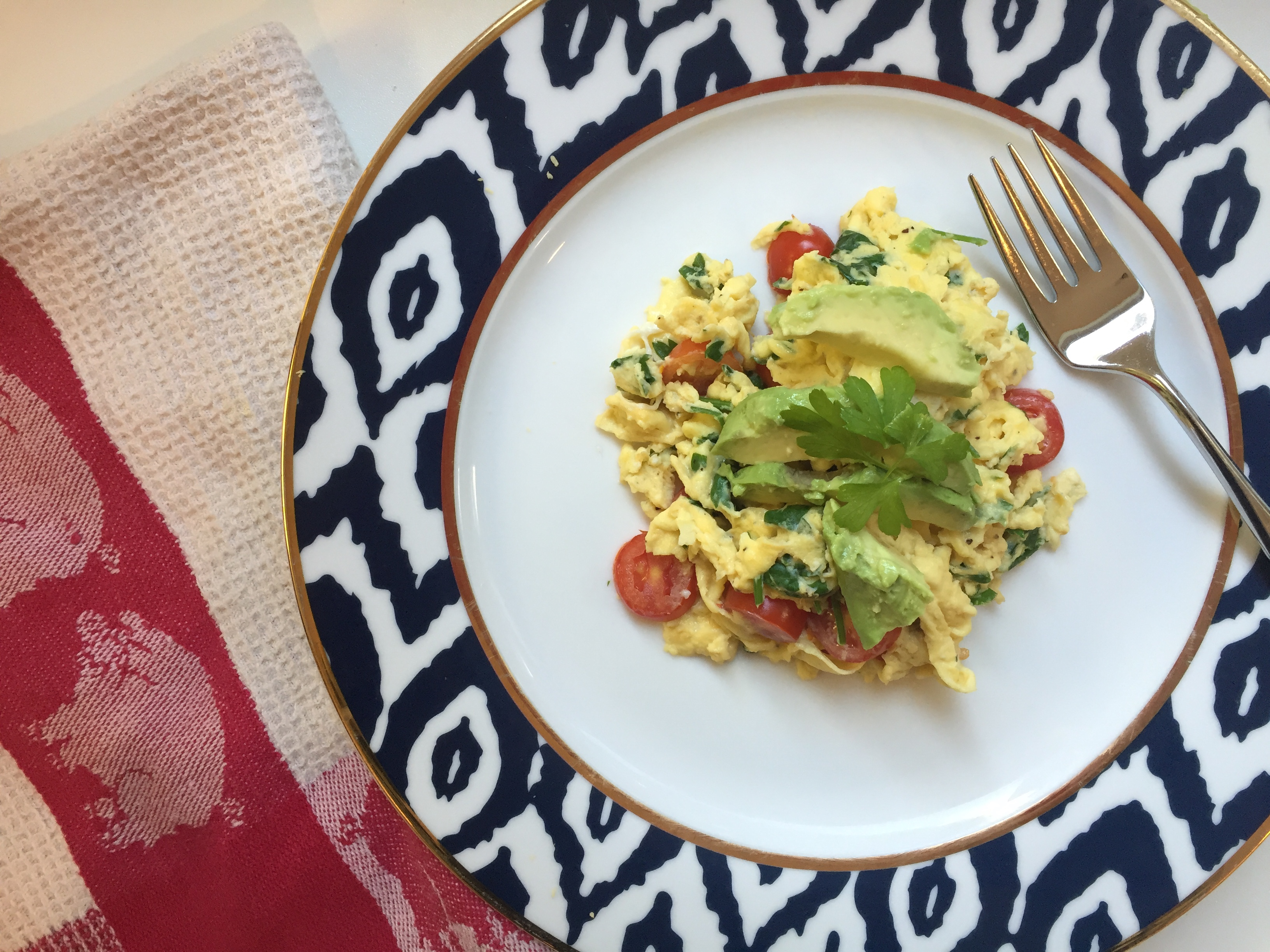 Healthy Breakfast Scramble
