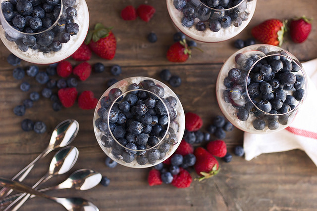 Patriotic Red White and Blue Produce- Eat More!