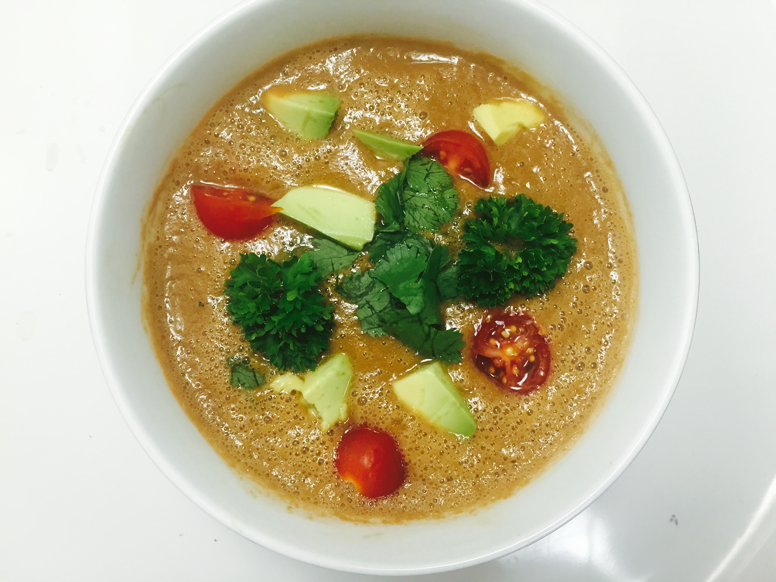 Summer Tomato and Squash Soup